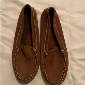 Tods brown loafers size 40 (men's 7)